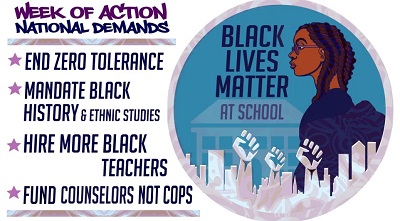 FOURTH-ANNUAL NATIONAL BLM AT SCHOOL WEEK OF ACTION KICKS OFF WITH CALLS FOR LOCAL ACCOUNTABILITY